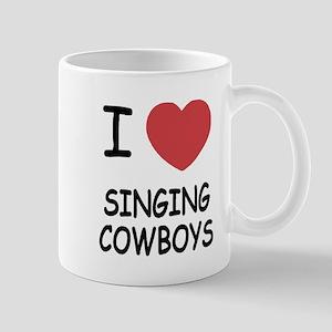 I heart singing cowboys Mug