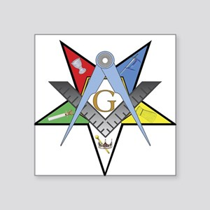 "OES Past Patron Square Sticker 3"" x 3"""
