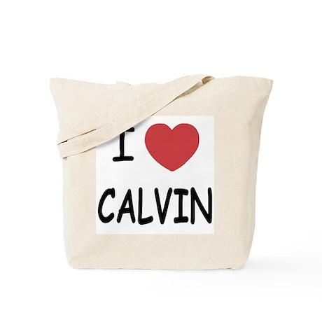 I heart CALVIN Tote Bag