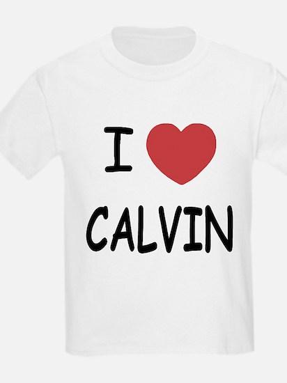 I heart CALVIN T-Shirt