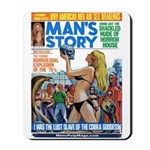 MANS STORY, April 1970 Mousepad
