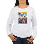 MANS STORY, April 1970 Women's Long Sleeve T-Shirt