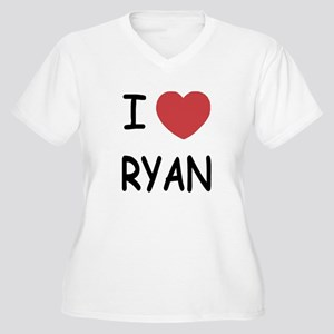 I heart RYAN Women's Plus Size V-Neck T-Shirt