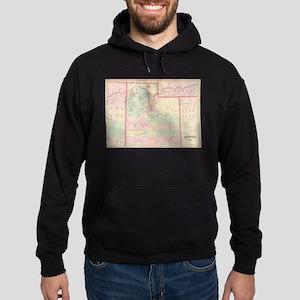 Vintage Map of Utah (1874) Sweatshirt
