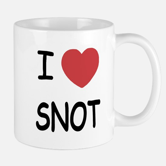I heart snot Mug