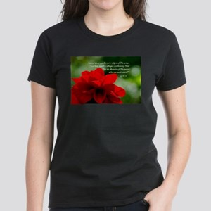 Dahlia Job 26:14 Women's Dark T-Shirt
