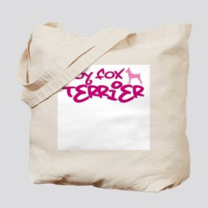 "Toy Fox Terrier ""Pink"" Tote Bag"