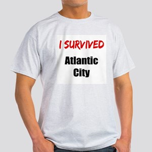 I survived ATLANTIC CITY Light T-Shirt