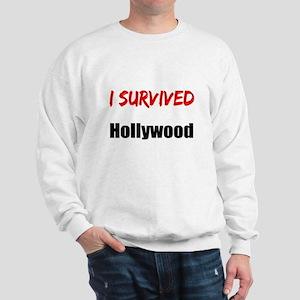 I survived HOLLYWOOD Sweatshirt