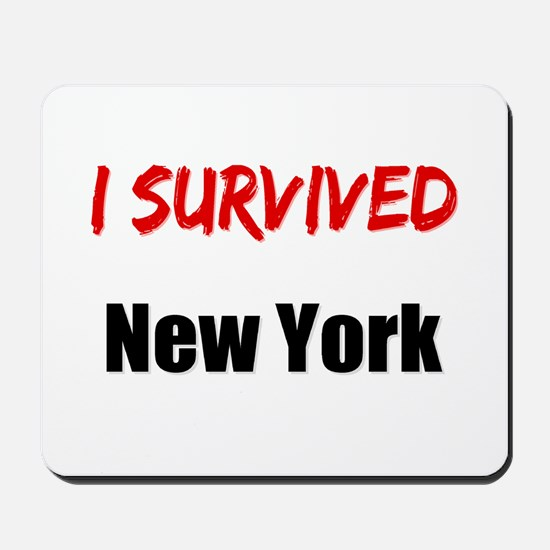 I survived NEW YORK Mousepad