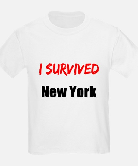 I survived NEW YORK T-Shirt