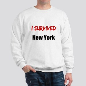 I survived NEW YORK Sweatshirt