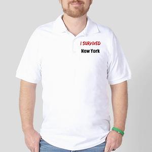 I survived NEW YORK Golf Shirt