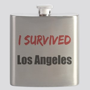 I survived LOS ANGELES Flask
