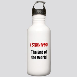 I survived THE END OF THE WORLD Stainless Water Bo