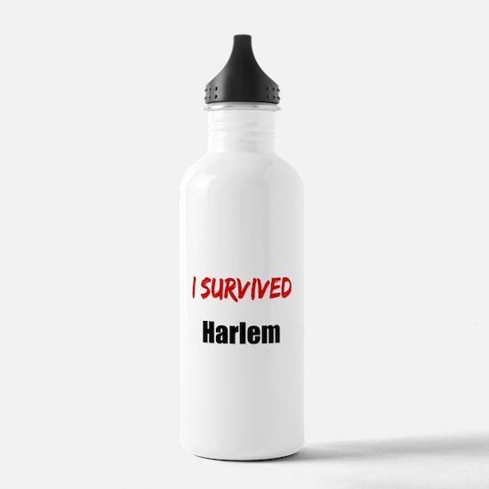 I survived HARLEM Water Bottle