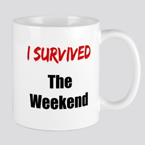 I survived THE WEEKEND Mug