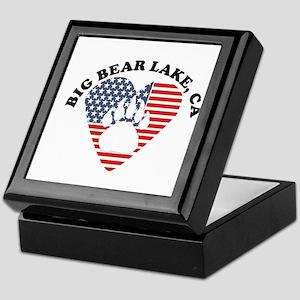 BIG BEAR LAKE Keepsake Box
