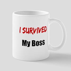 I survived MY BOSS Mug