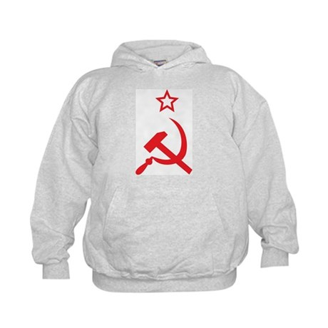 Star, Hammer and Sickle Kids Hoodie