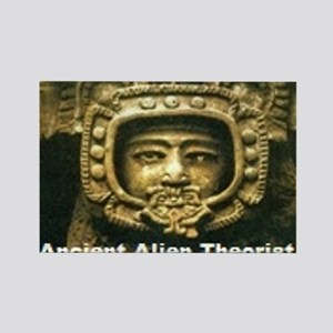 Ancient Aliens Rectangle Magnet (10 pack)