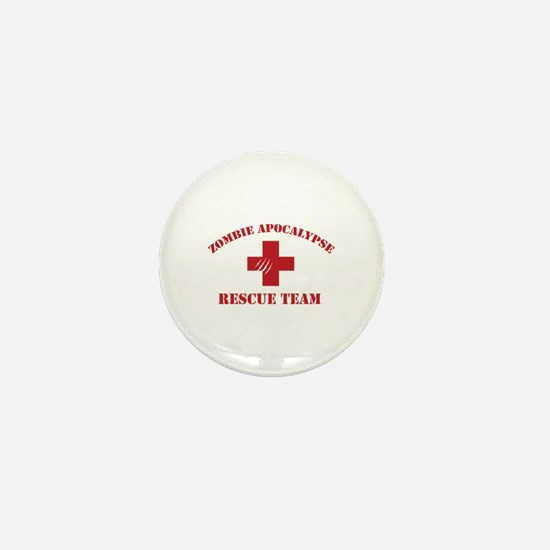 Zombie Apocalypse Mini Button