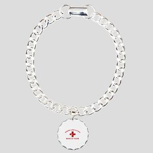 Zombie Apocalypse Charm Bracelet, One Charm