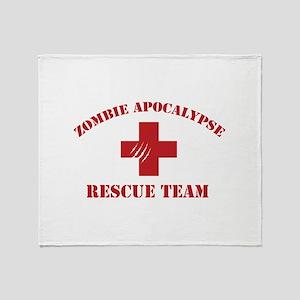 Zombie Apocalypse Throw Blanket