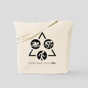 iSwim iBike iRun iTri Tote Bag