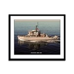 USS EXCEL Framed Panel Print