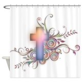 Cross Shower Curtains
