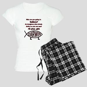 ILL STICK WITH DARWIN Women's Light Pajamas