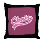 Choir Throw Pillow