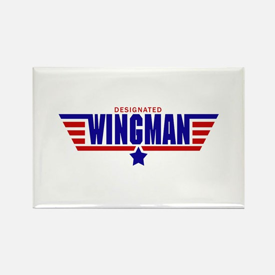 Designated Wingman Rectangle Magnet