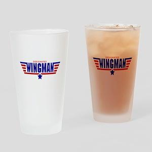 Designated Wingman Drinking Glass