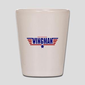Designated Wingman Shot Glass