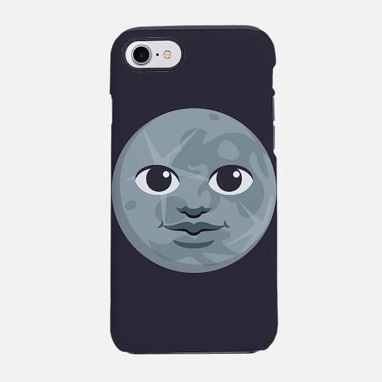 Moon Emoji iPhone 7 Tough Case