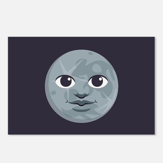 Moon Emoji Postcards (Package of 8)