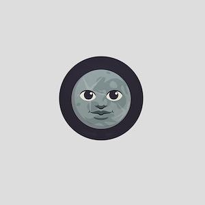 Moon Emoji Mini Button