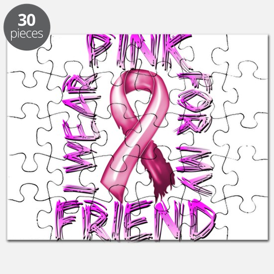 I Wear Pink for my Friend Puzzle
