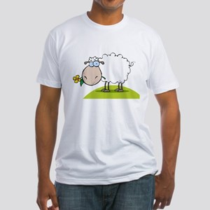 Sheep Fitted T-Shirt