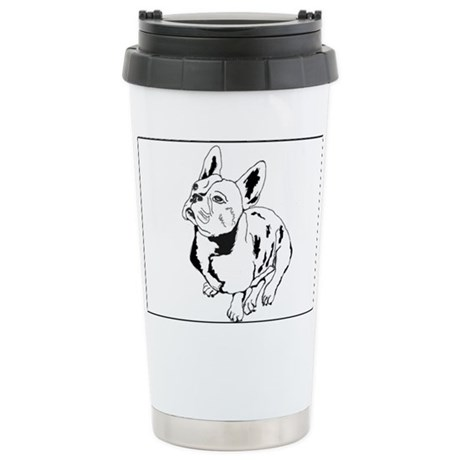 French Bulldog 1 Stainless Steel Travel Mug