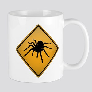 Tarantula Warning Sign Mug