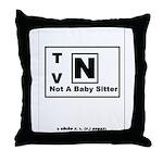 TV-N Version 2 Throw Pillow