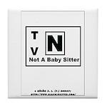 TV-N Version 2 Tile Coaster