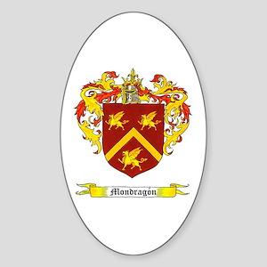 Mondragon Oval Sticker