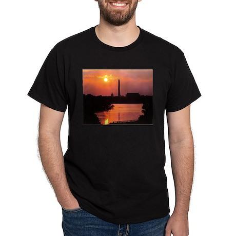 DC sunrise Black T-Shirt