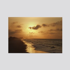 Sunrise, Topsail Beach Rectangle Magnet