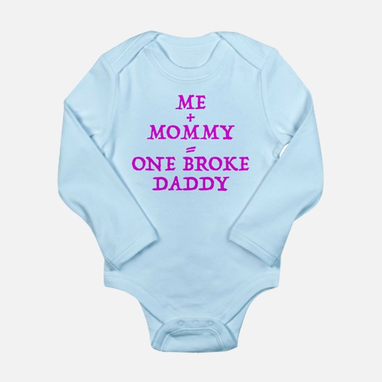 One Broke Daddy Body Suit
