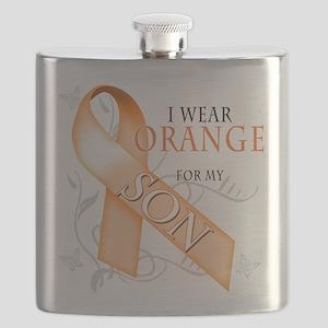 I Wear Orange for my Son Flask
